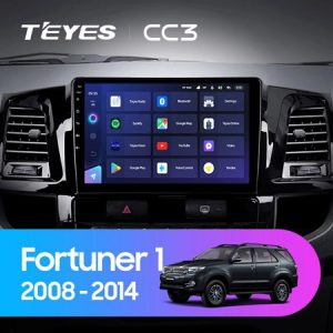 man hinh android teyes cc3 fortuner 2008